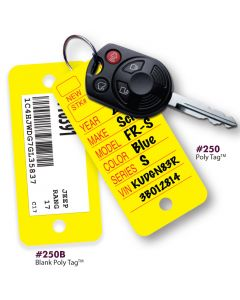 V-T POLY TAG Key Tags