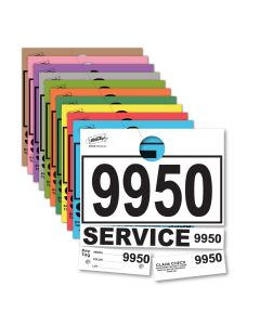 V-T Service Department Hang Tags PLUS