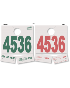 Heavy Stock Dispatch Control Tags