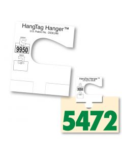 V-T HangTag Hanger Patented Adapter