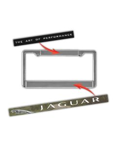 Custom Domed Decals For Use With Auto Plate Frames