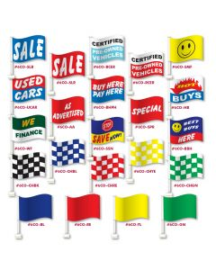 Supreme Clip-On Flags