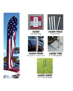 Stock Swooper Flags and Kits