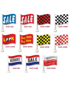Thrifty Large Clip-On Flags